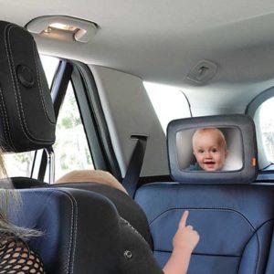Espejo para asiento trasero auto